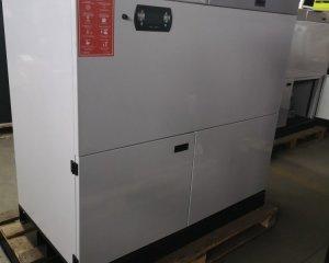 NR 2 - Kocioł EG Pellet 15 kW, zasobnik paliwa 320 / prawy / wewnętrzny / WHITE / 9 700 PLN