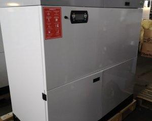 NR 9 - Kocioł EG Pellet 15 kW, zasobnik paliwa 320 / prawy / wewnętrzny / WHITE / 9 700 PLN