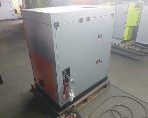 NR 15 - Kocioł EG Pellet 15 kW, zasobnik paliwa 170 / prawy / wewnętrzny / Pomarańczoawy / 11 000 PLN